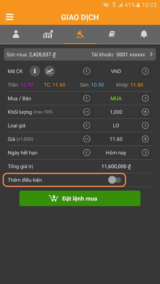 Huong dan lenh rinh mua ban Android 1