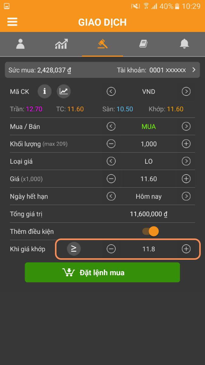 Huong dan lenh rinh mua ban Android 2