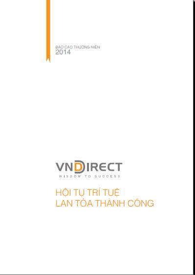 Báo cáo năm <span> 2014</span>