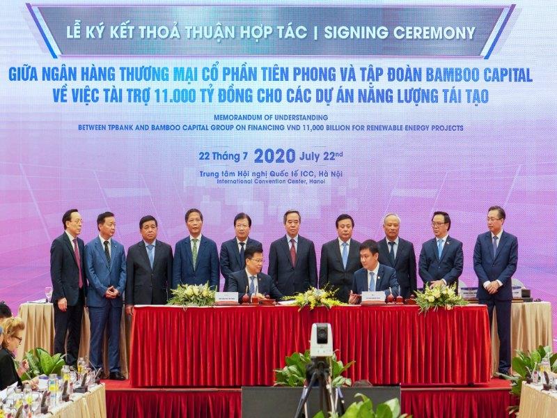 TPBank tài trợ trái phiếu công ty Bamboo Capital